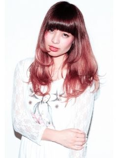 """この画像は「グラデーションカラーは""""ピンク""""を投入で派手かわいい愛されヘアになりたいの♡」のまとめの7枚目の画像です。"""