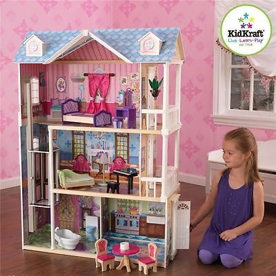 KidKraft My Dreamy Dollhouse Large Electronic Children's Kid's Doll House Toy | eBay