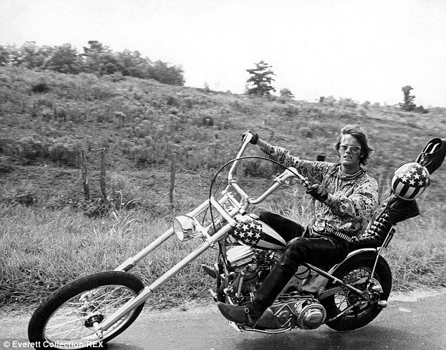 The bike was a central part of the film, which was about two drug-using bikers who went on...