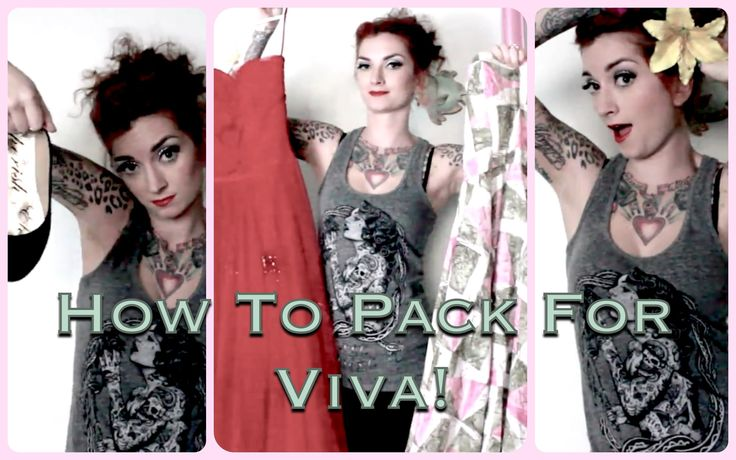 Tips and Tricks to Pack For Viva Las Vegas Rockabilly Weekend by CHERRY DOLLFACE