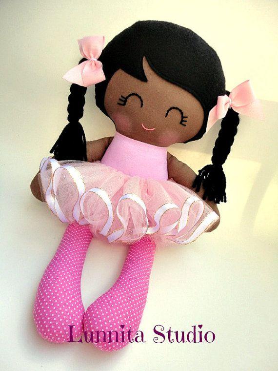 boneca bailarina, Handmade da boneca de pano, presente menina, Ragdoll, pano boneca, boneca Tecido ... Eco-Friendly boneca ... ragdoll doce ...... PRONTO PARA ENVIAR