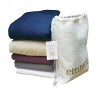 organic pure bamboo queen size sheet set, These sheets panda to my love for sleeping naked  #ettitude