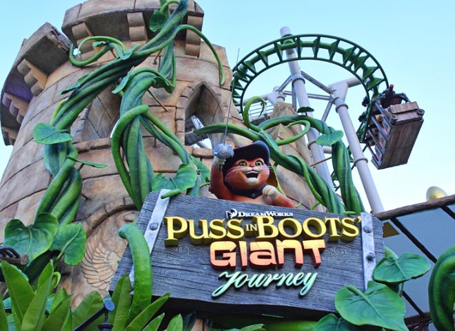 Universal Studios Singapore Puss In Boots
