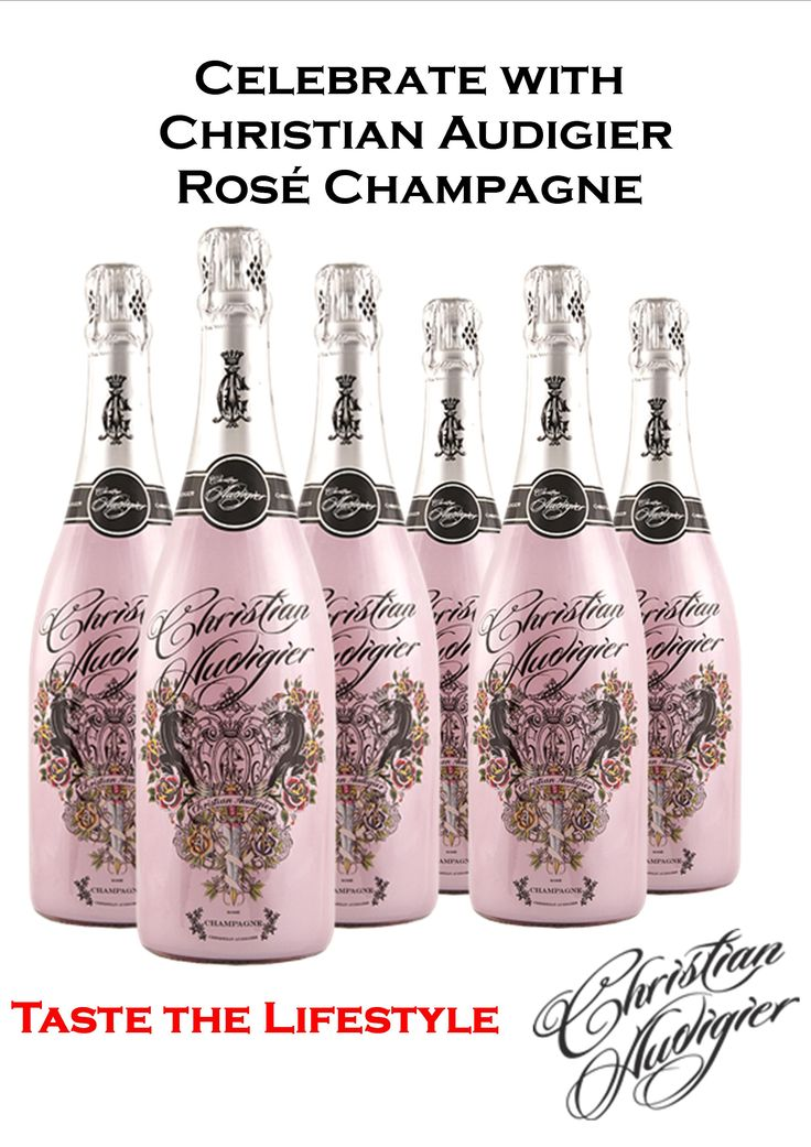 Christian Audigier Rose Champagne