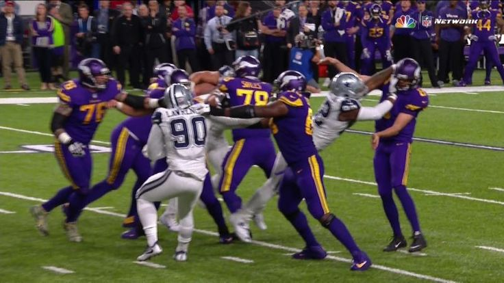 The Minnesota Vikings held Dak Prescott to his fewest yards passing in an NFL game and staged a late comeback against the Dallas Cowboys tonight, but they came up short on a late two-point conversion and lost, 17-15. After hitting Jerick McKinnon for a touchdown pass, Sam Bradford airmailed his two-point throw a few yards above his receiver's head, effectively ending the game.