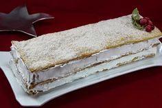 Milhojas de merengue exprés THERMOMIX