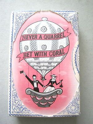Playing #cards vintage #ballooning duty #sealed de la rue for coral bookmakers 19,  View more on the LINK: http://www.zeppy.io/product/gb/2/311627225470/