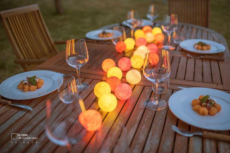 15 best deco guirlande outdoor images on pinterest garlands rubrics and light fixtures. Black Bedroom Furniture Sets. Home Design Ideas
