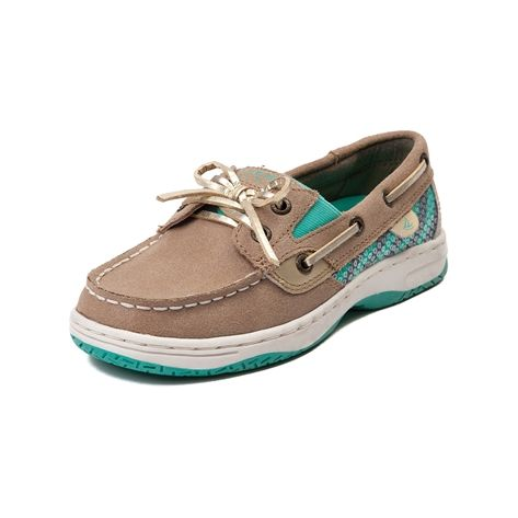 shop for youthtween sperry butterflyfish boat shoe in