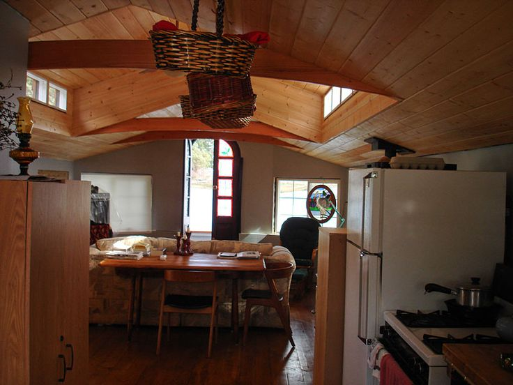 Delightful Interior Shot Of The Floating Pod (pre Fab, Eco Friendly House Boat) Ideas