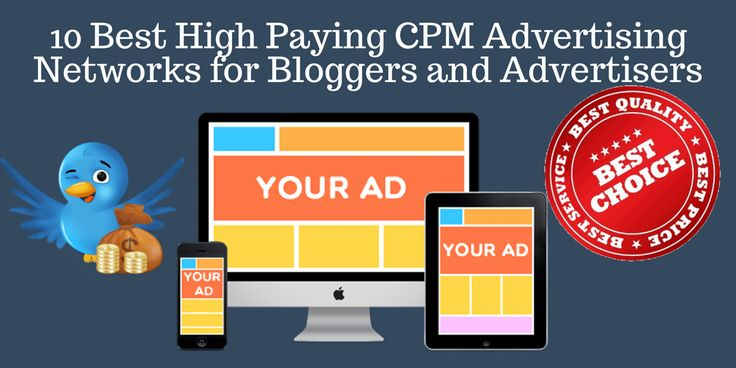 CPM advertisingnetworks are one of the best options to easily monetize a blog or website. Here are the best CPM advertising programs in 2017.