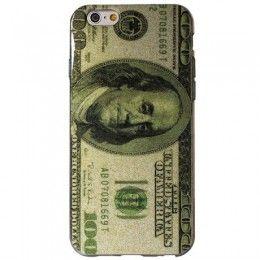 Coque de protection design dollar pour téléphone iPhone 6 – 4.7 pouces