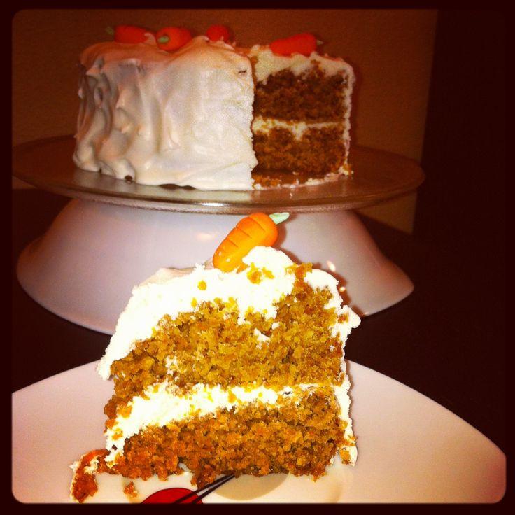 Tarta de Zanahoria y Coco, con crema de queso!!!!