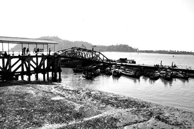 Myeik Harbour, Myanmar. Taken using Nikon D7000.
