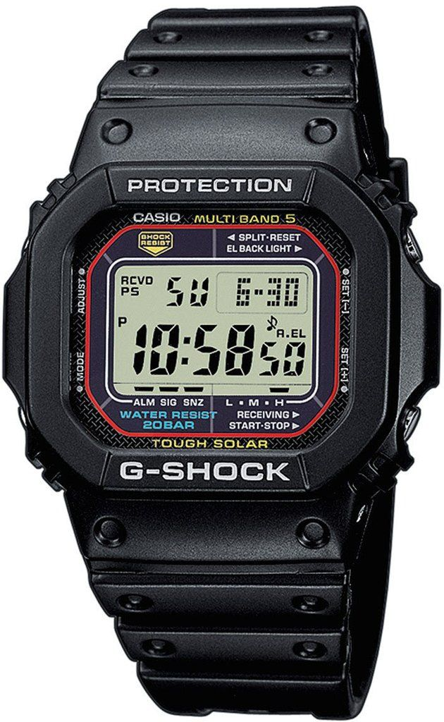 G-Shock Watch Alarm Chronograph #alarm-yes #bezel-fixed #bracelet-strap-rubber #brand-g-shock #case-depth-12-7mm #case-material-plastic #case-width-43-2mm #chronograph-yes #classic #date-yes #day-yes #delivery-timescale-call-us #dial-colour-lcd #gender-mens #movement-solar-powered #new-product-yes #official-stockist-for-g-shock-watches #packaging-g-shock-watch-packaging #perpetual-calendar-yes #style-sports #subcat-g-shock #supplier-model-no-gw-m5610-1er…