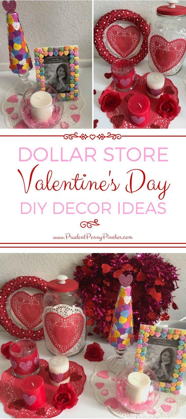 Dollar Store Valentineu0027s Day Decor Ideas 95