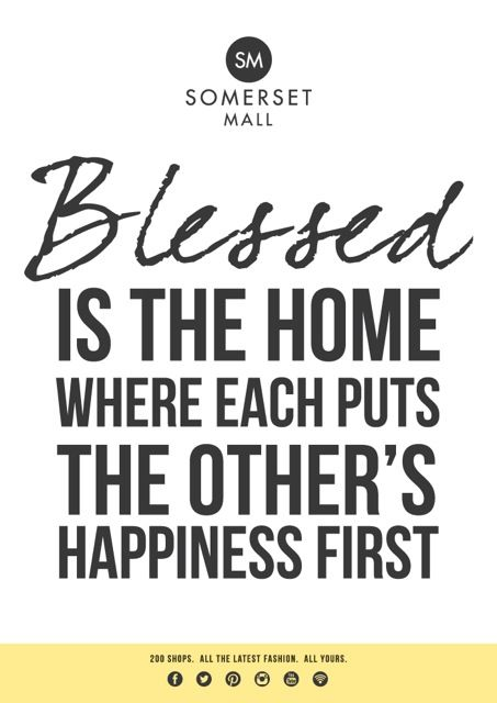Wishing all Somerset Mall shoppers a blessed weekend!