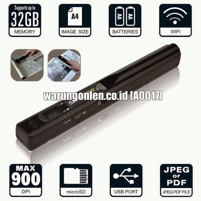 Scanner Mobile / Portable Handy Scanner - A0017