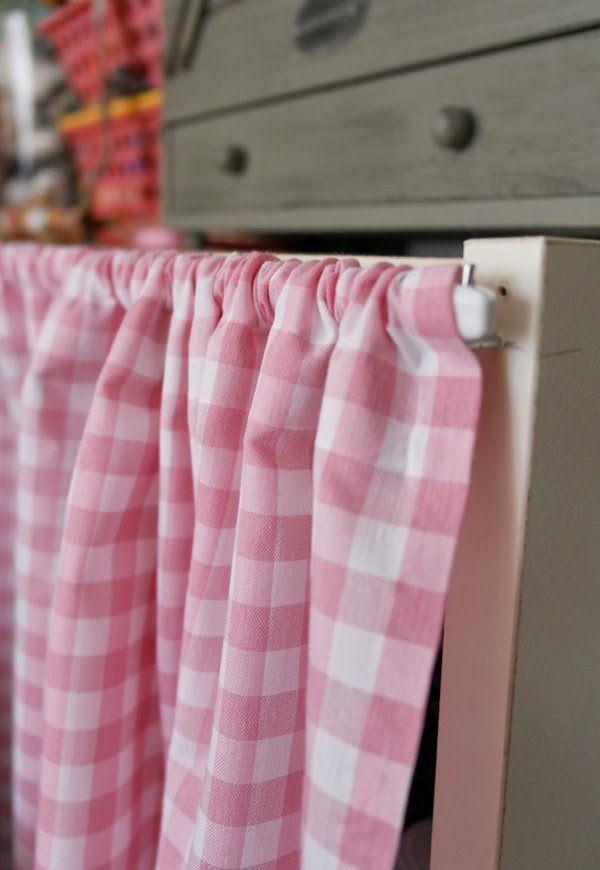Lalole blog como hacer unas cortinas sin saber coser - Hacer cortinas en casa ...