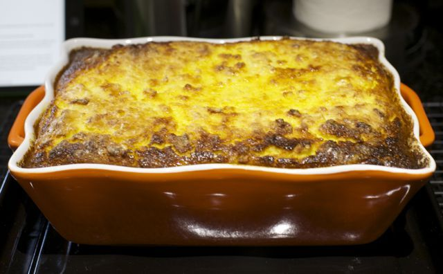 Pastelera de choclo / Corn pudding