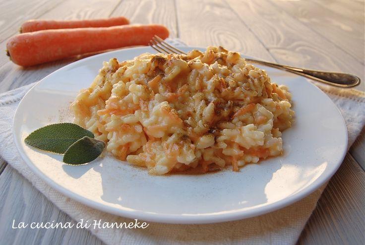 Risotto alle carote e liquirizia