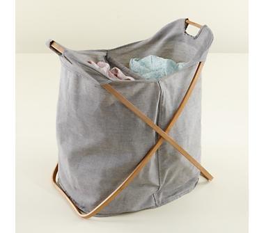 Load Bearing Double Laundry Hamper