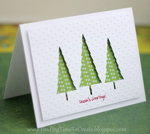 christmas card ideas using the silhouette - Google Search