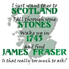 Outlander Outlander Outlander....my most favorite books of all time....have read the series 5 times.....waiting anxiously for book 8 sometime in 2013!!!! Jacob and Edward don't hold a candle to Jamie!!!!