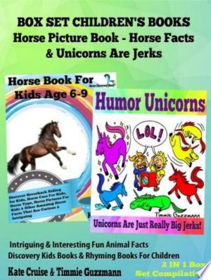 Box Set Children's Books: Horse Picture Book - Horse Facts ...
