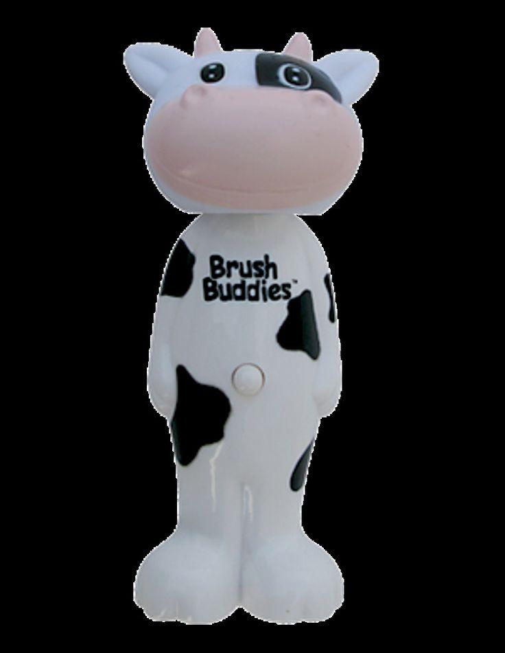 Kids Fun Poppin Milky Wayne (Cow) Toothbrush Flexible brush head Soft bristles  #Unbranded