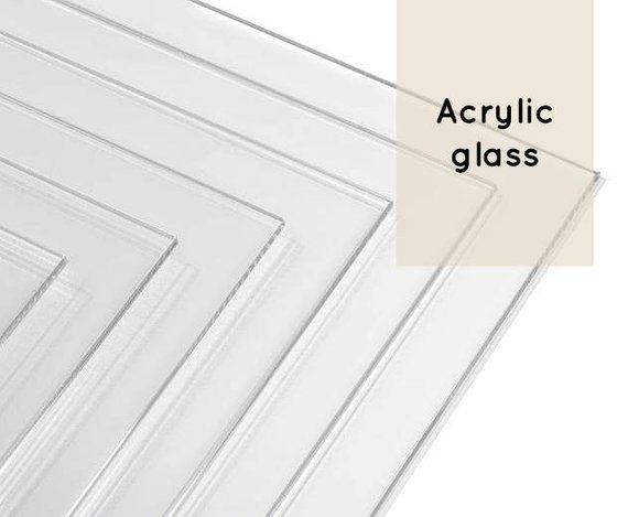Glazing Clear Acrylic Glass Plexiglass Protection For Prints Etsy Plexiglass Clear Plastic Sheets Clear Acrylic