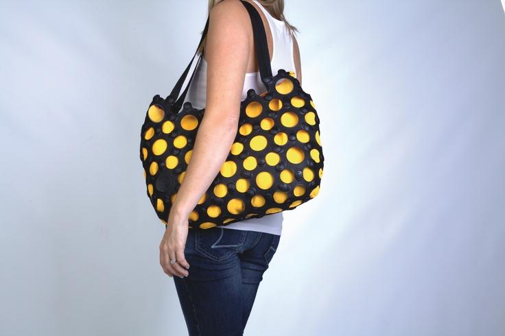 Korol Tote bag. 450mm width. Interchangeable linings.