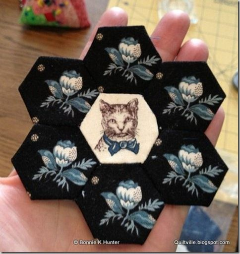 An evening with the English Paper Piecing club at Mary's Quilt Shop in Bedford, PA! Click through to view the slide show of some gorgeous hexagon quilts with fabrics from 1780-1850! AMAZING!!!