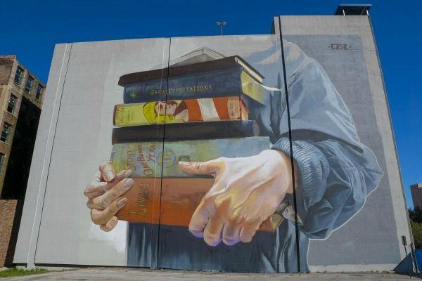 Jacksonville Florida Mural On Building On Forsyth Street Street Artists Street Art Art