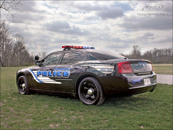 Brownsburg Police Car Decals by TKO Graphix by TKO Graphix, Josh Humble, via 500px