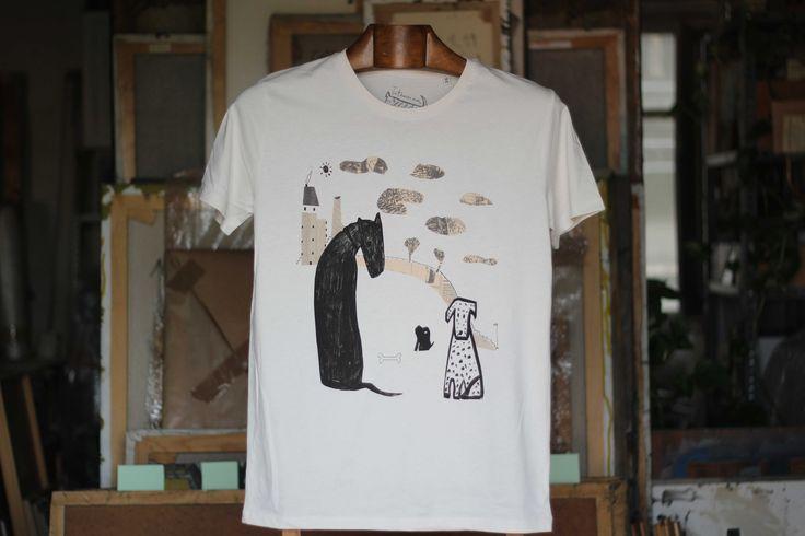 El coloquio de los perros camiseta hombre Camiseta hombre 100% algodón orgánico 32,00€