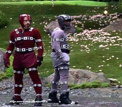 Cap: take the suit away, what do you have?? Tony: