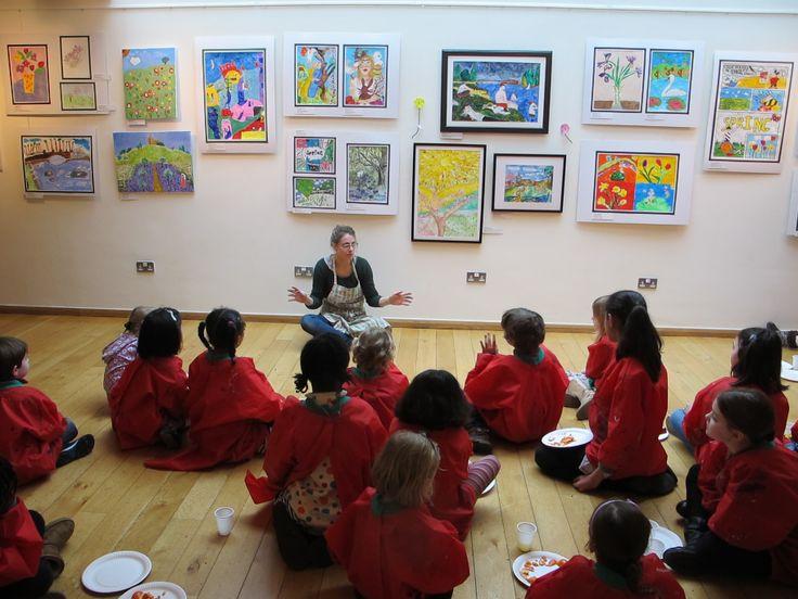 Art classes for kids in Hampstead!  For more details: www.fineart4kids.com