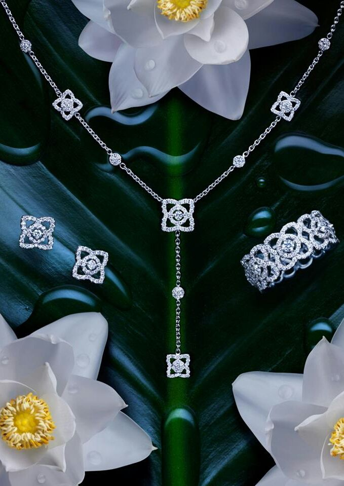 De Beers Diamonds Lotus Collection