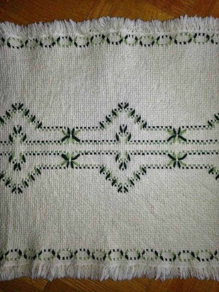Swedish Weaving Club: Lisa's Afghan