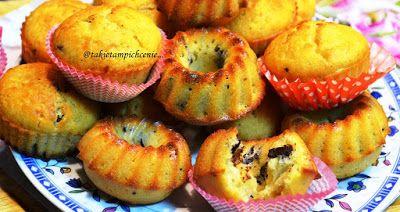 Tradycyjnie z nutką nowoczesności.: Muffinki z czekoladą