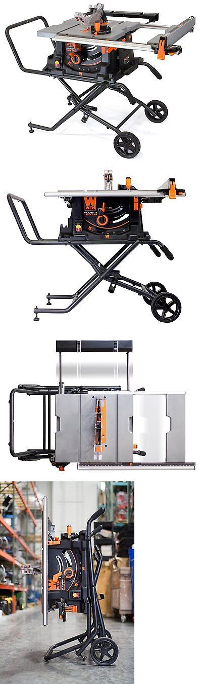 Table Saws 122835: Wen 3720 10-Inch Jobsite Table Saw With Rolling Stand -> BUY IT NOW ONLY: $411.22 on eBay!
