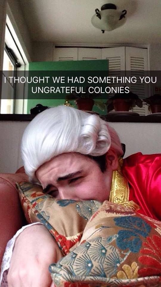 "scopesandskullties: "" Just so you all know, the rain on this 4th of July is King George III's tears """