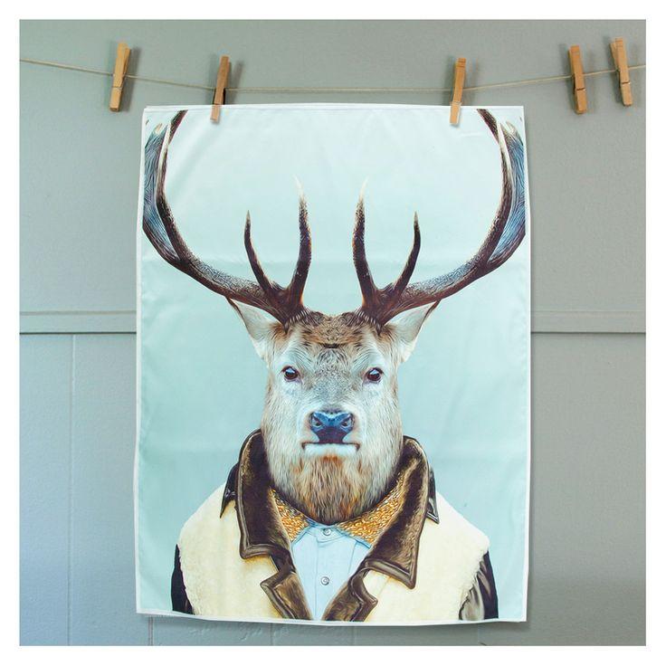 The Design Gift Shop - ANNABEL TRENDS | Tea Towel | Elk, $15.90 (http://www.thedesigngiftshop.com/annabel-trends-tea-towel-elk/)