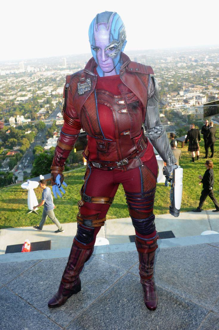 AGuardians of the GalaxyCosplayer as Nebula