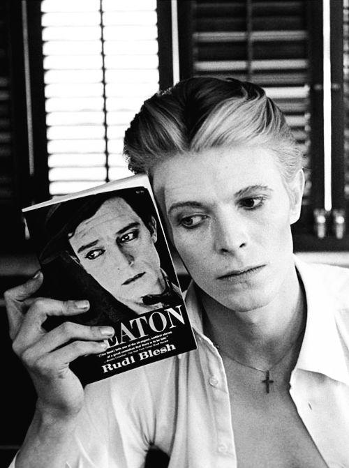 David Bowie is... David Bowie with Buster Keaton Book (Steve Schapiro, 1975)