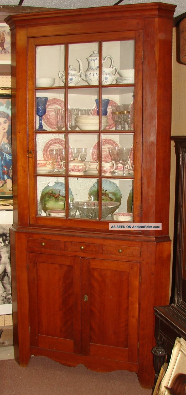 Auction company 751 walnut victorian marble top parlor table ca 1870 - Antique Corner Cupboards Antique Corner Cupboard Early 1800 S 1800 1899