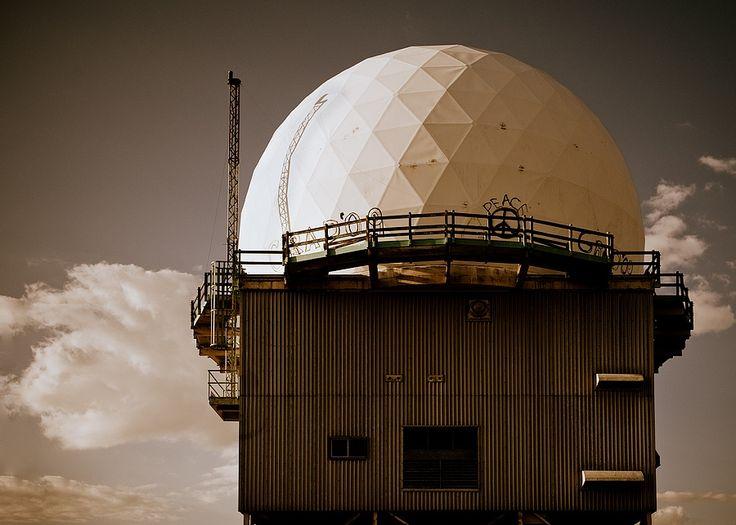 Find old Pinetree Line Radar Facility near Moosonee