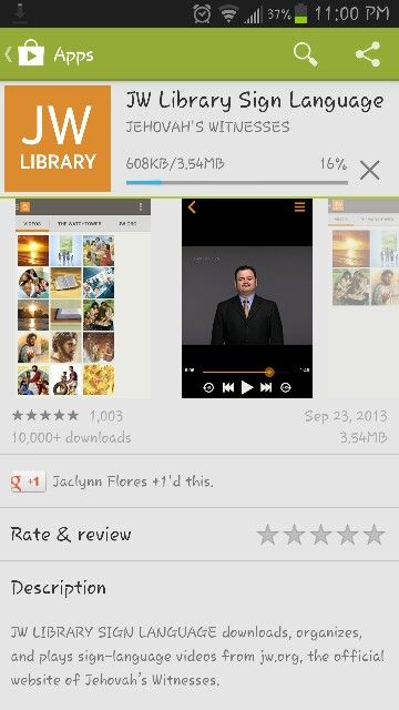 """Learn the bible with Sign Language Videos! Go to your app store and search """"JW Sign Language"""" IT'S FREE!"""