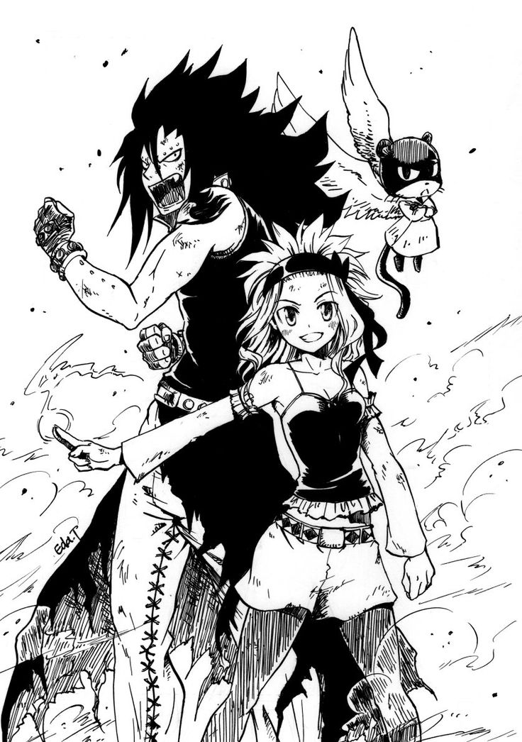 Levy,Gajeel and Lily YES YES YES YES MY FAVOURITE TEAM IN FAIRYTAIL!!!!!!!!!!!